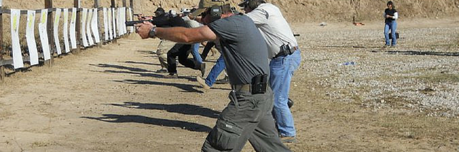 Learn how to safely handle a gun and shoot defensively in a dangerous situation with our firearm classes!